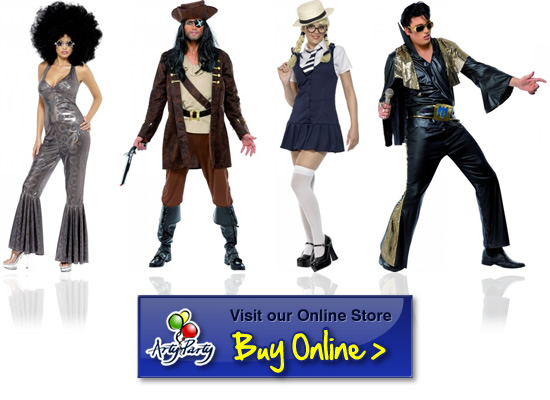 fancy dress ideas - Partyland Halloween Costumes